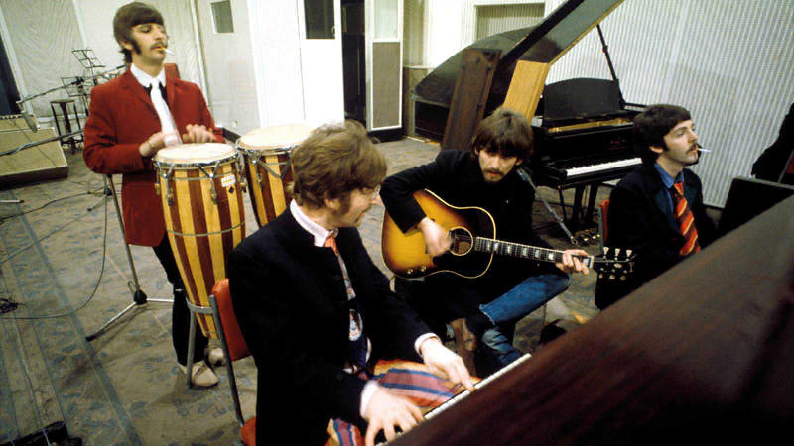 Los Beatles llevaron al estudio la energía de sus directos para la grabación del 'Sgt. Pepper's'