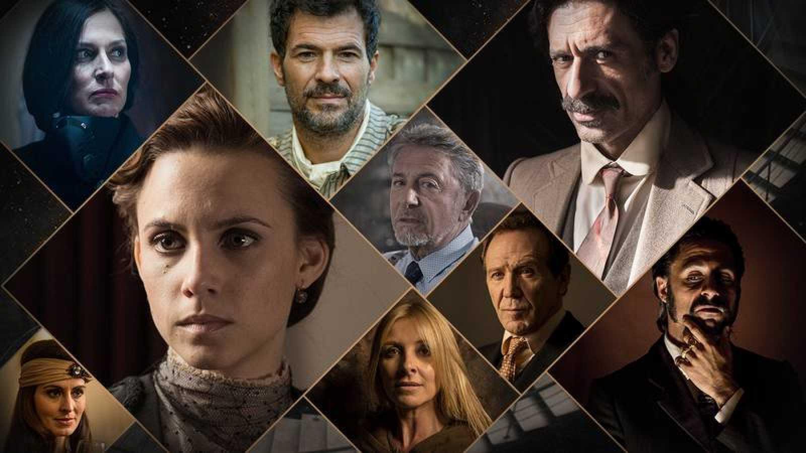 Algunos de los protagonistas de 'El Ministerio del Tiempo'