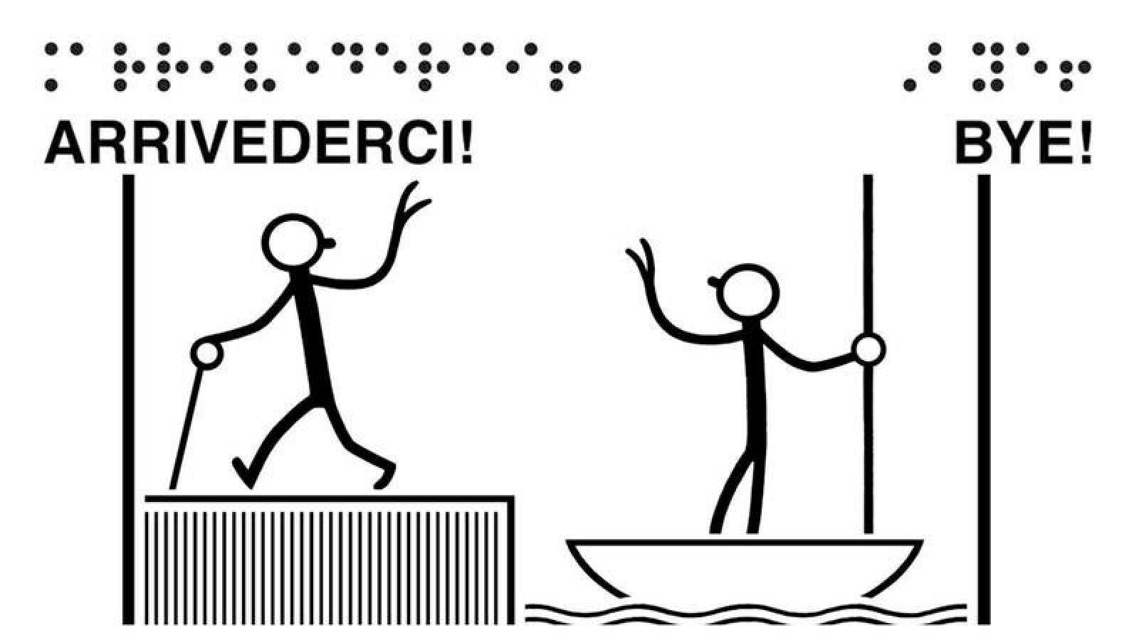 Imagen del cómic 'A boat tour/Tour in barca'