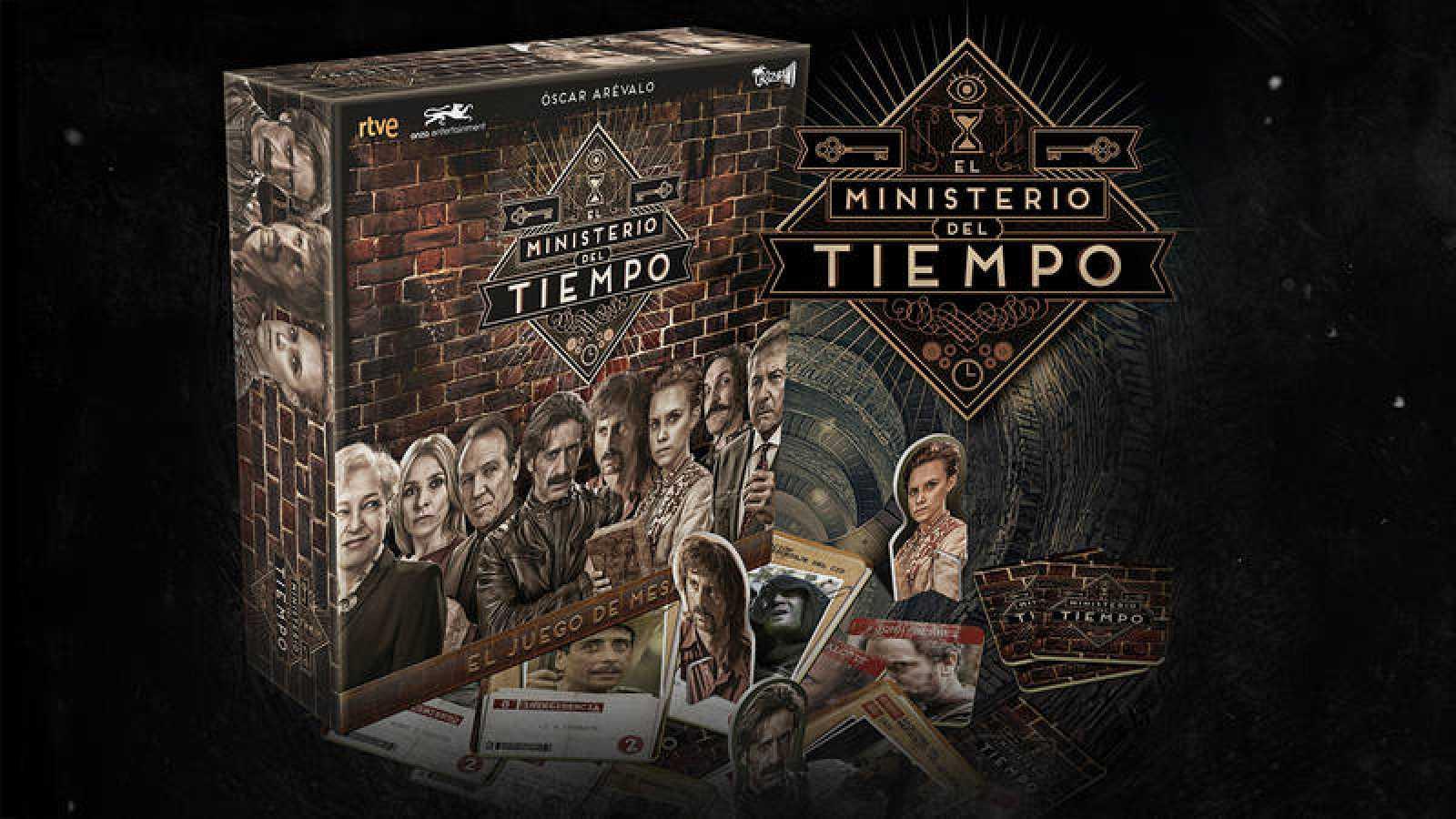El juego de mesa oficial de 'El Ministerio del Tiempo'