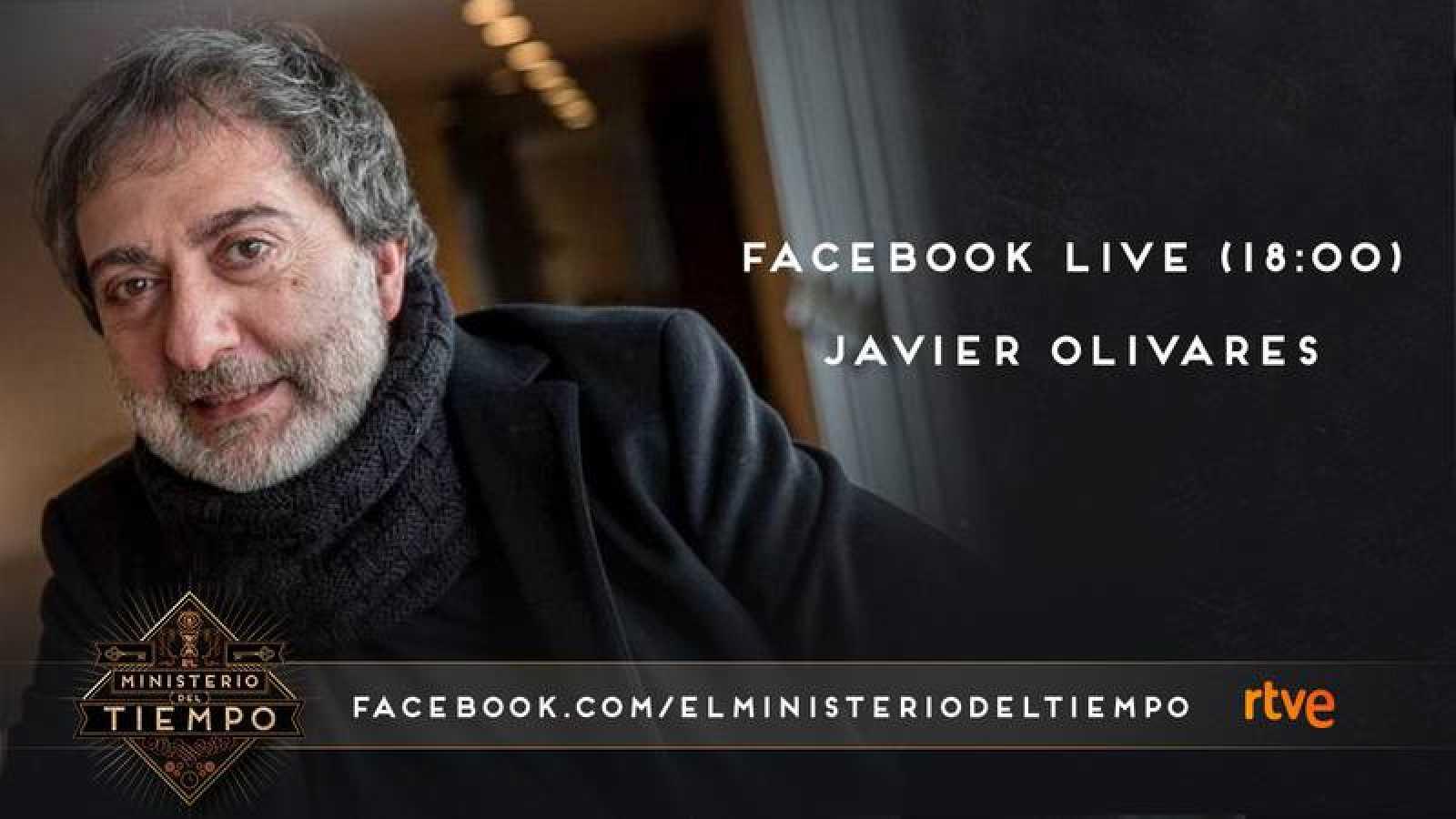 Javier Olivares charlará con los ministéricos en directo