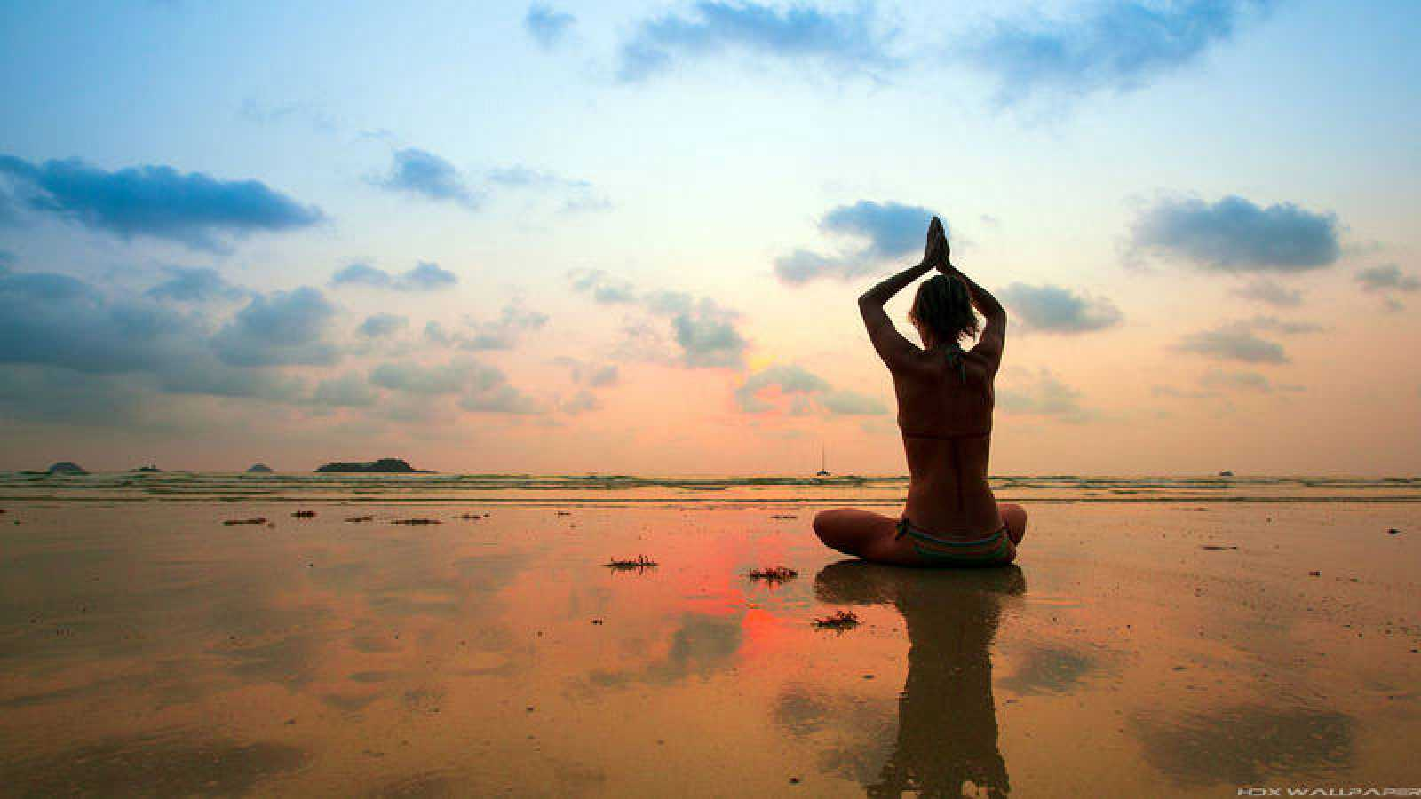 'Memoria de delfín' con el yoga