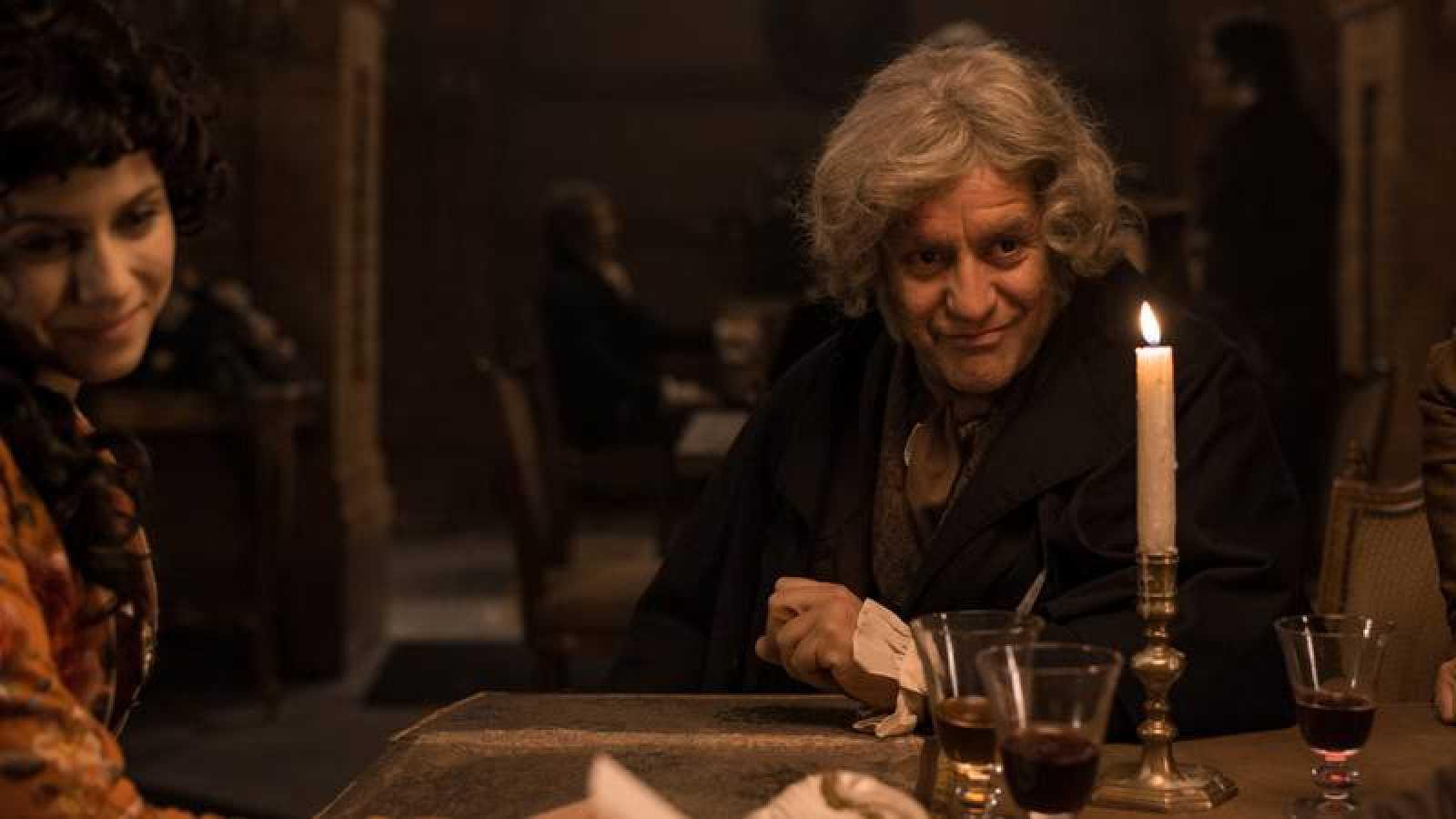 Pedro Casablanc interpreta a Francisco de Goya en 'El Ministerio del Tiempo'