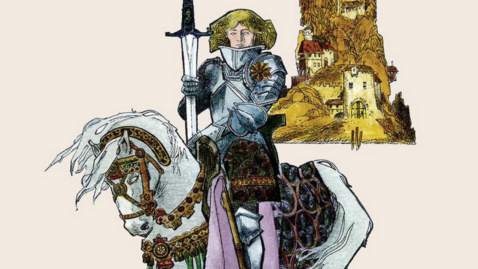 Fragmento de la portada de 'Battaglia. Cuentos y leyendas'
