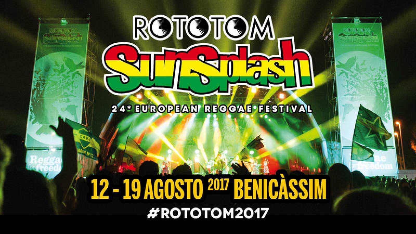 El Rototom Sunsplash celebra su 24ª edición en Benicàssim del 12 al 19 de agosto