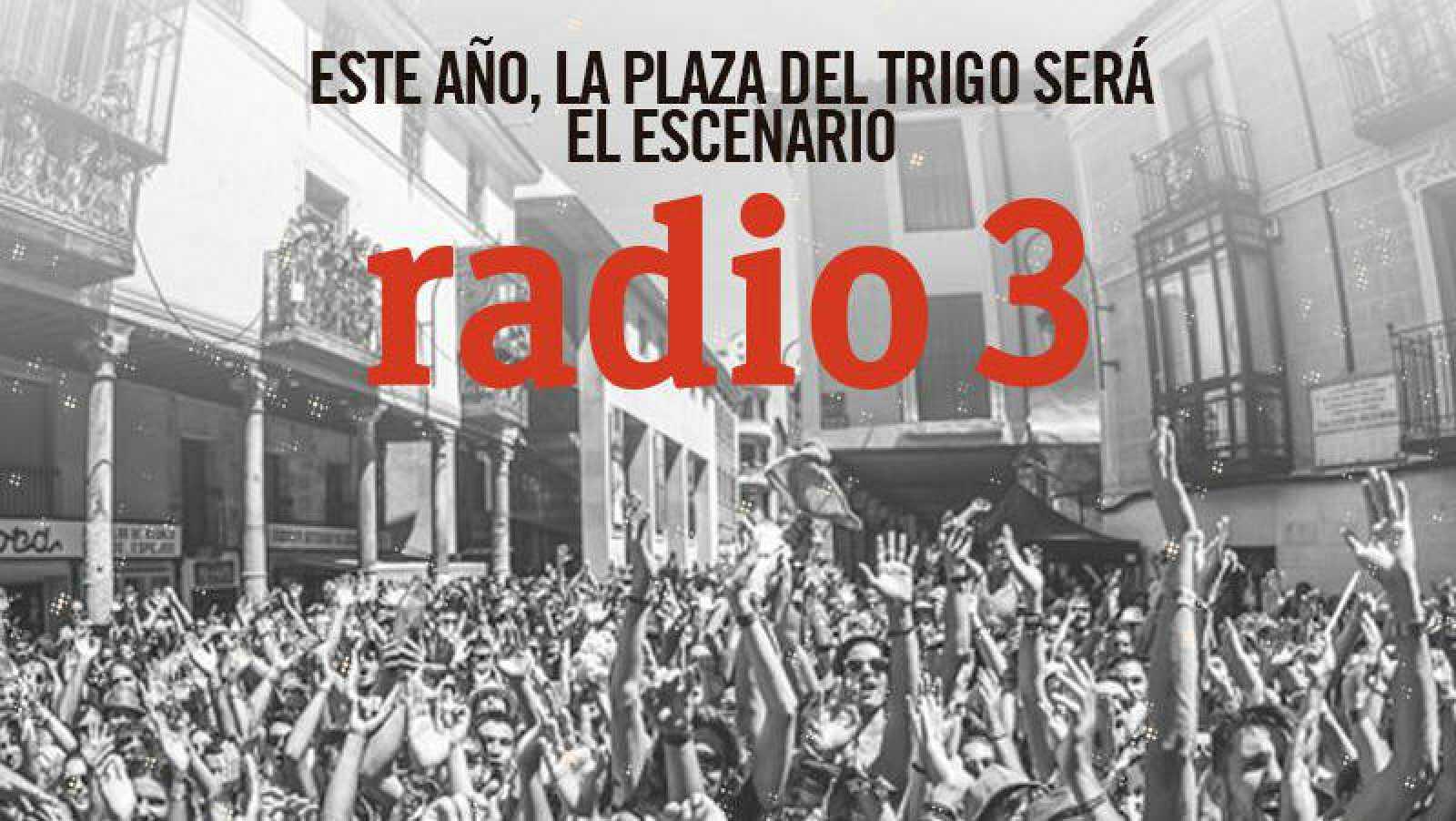 Este año la Plaza del Trigo del Sonorama será el Escenario Radio 3