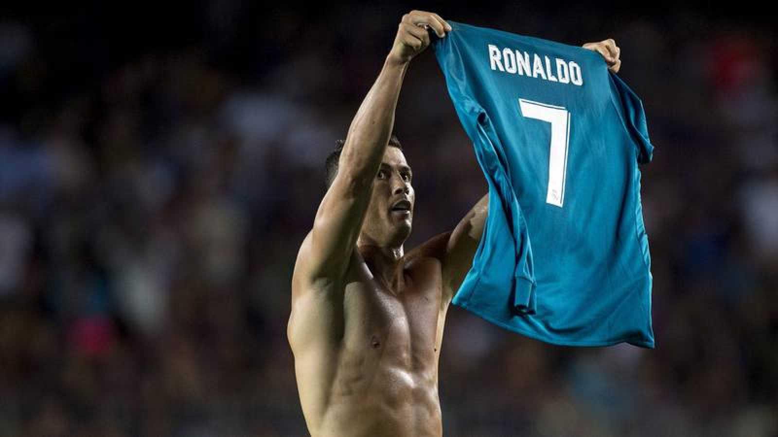 Cristiano, protagonista en la victoria del Camp Nou