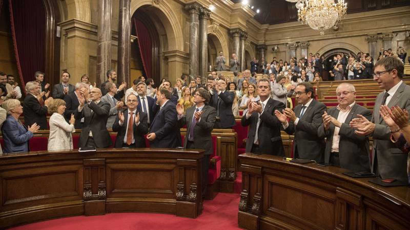 El Pleno del Parlament