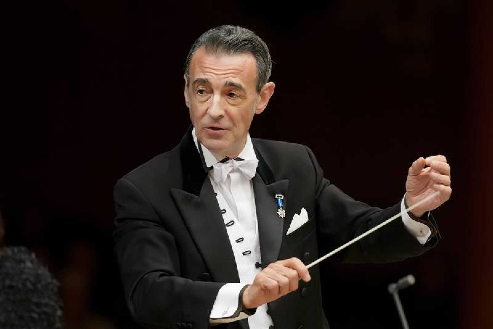 Miguel Ángel Gómez Martínez, director titular de la Orquesta y Coro RTVE