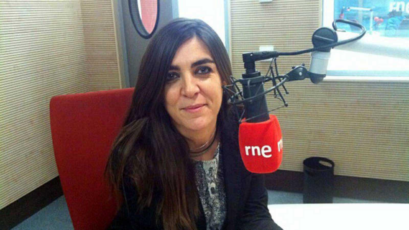 La periodista de RNE Laura Alonso.