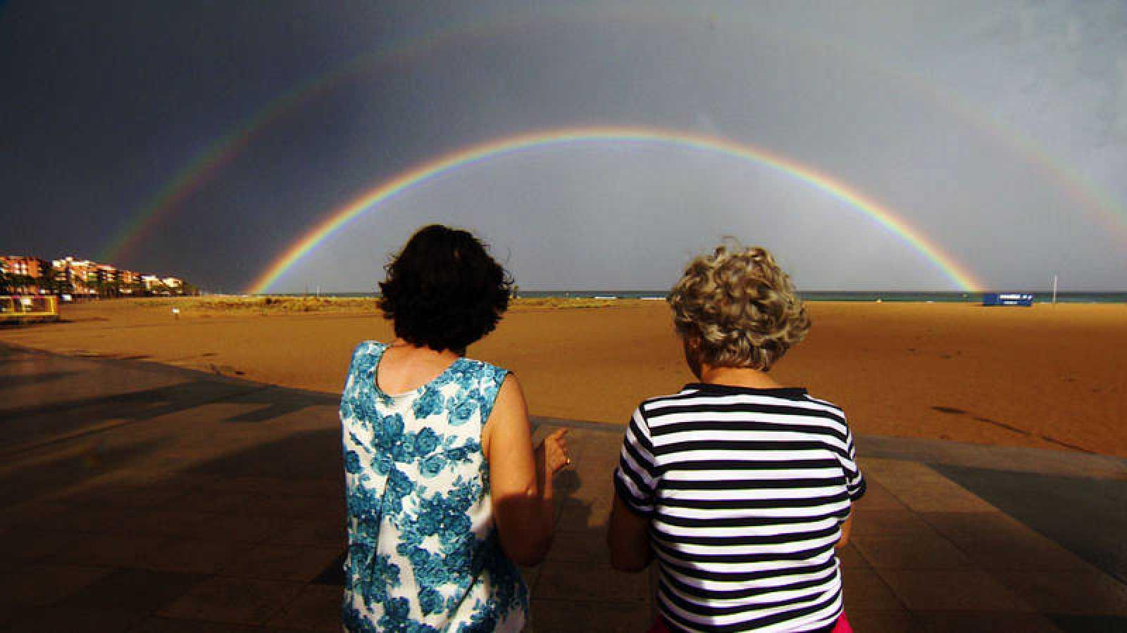 El tiempo del arco iris
