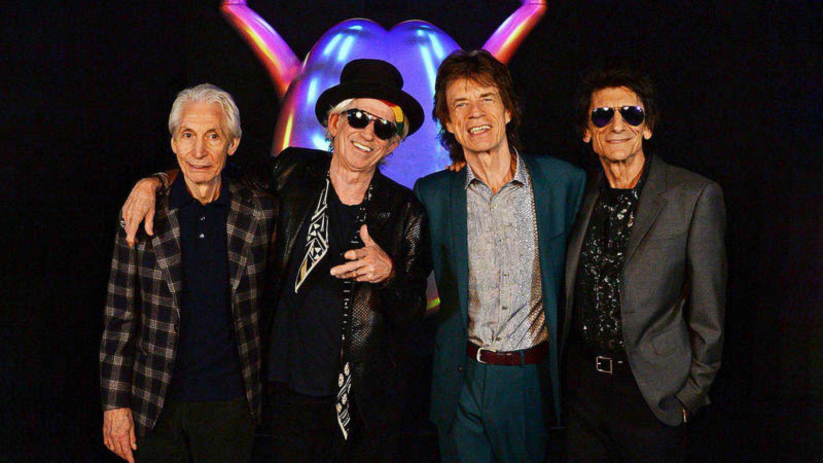 'Memoria de Delfín' con The Rolling Stones