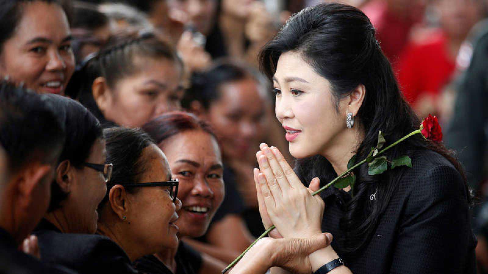 La exprimera ministra tailandesa Yingluck Shiwanatra, condenada a 5 años de prisión