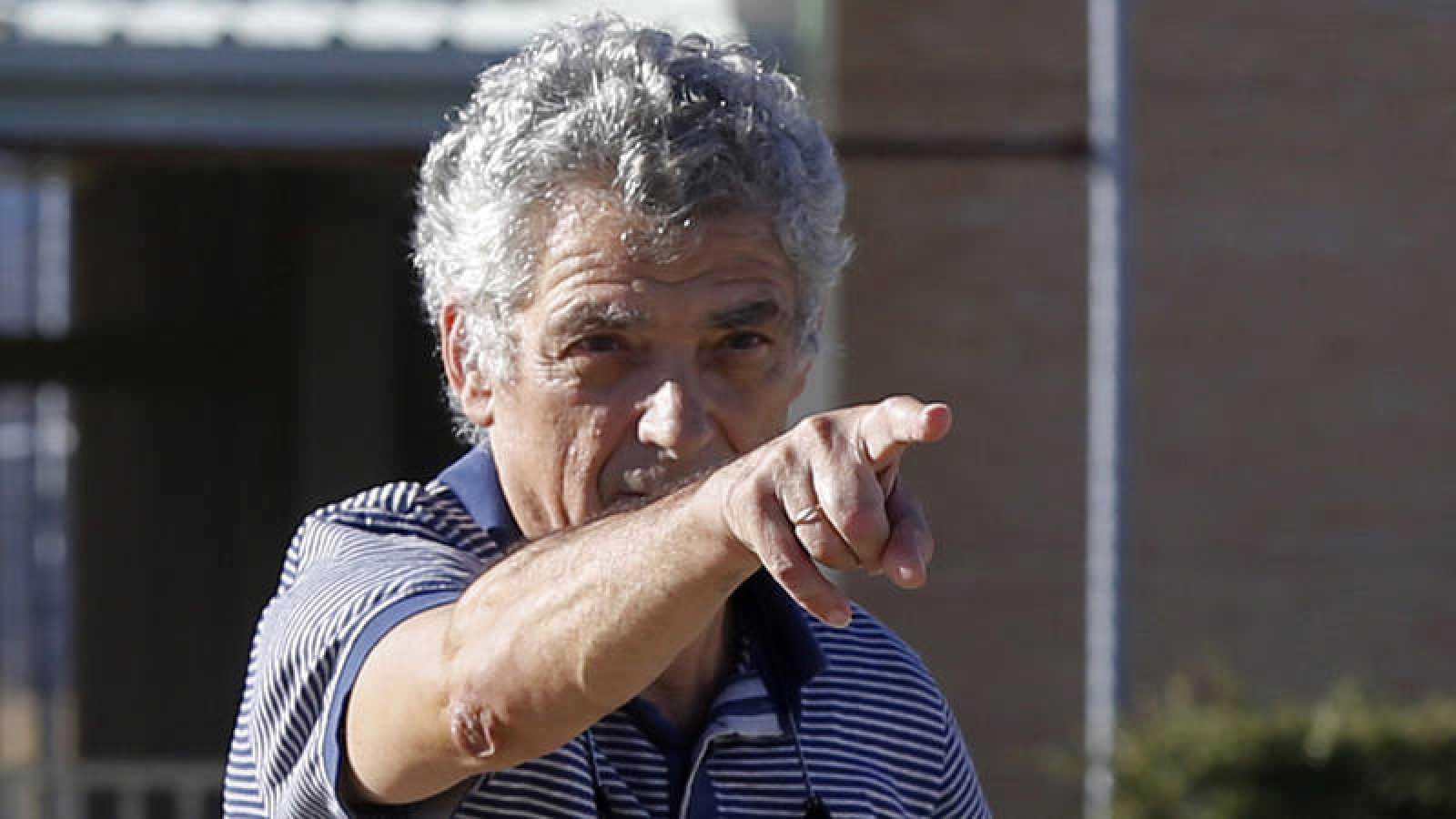 Imagen de la salida de prisión de Ángel María Villar el pasado 1 de agosto.