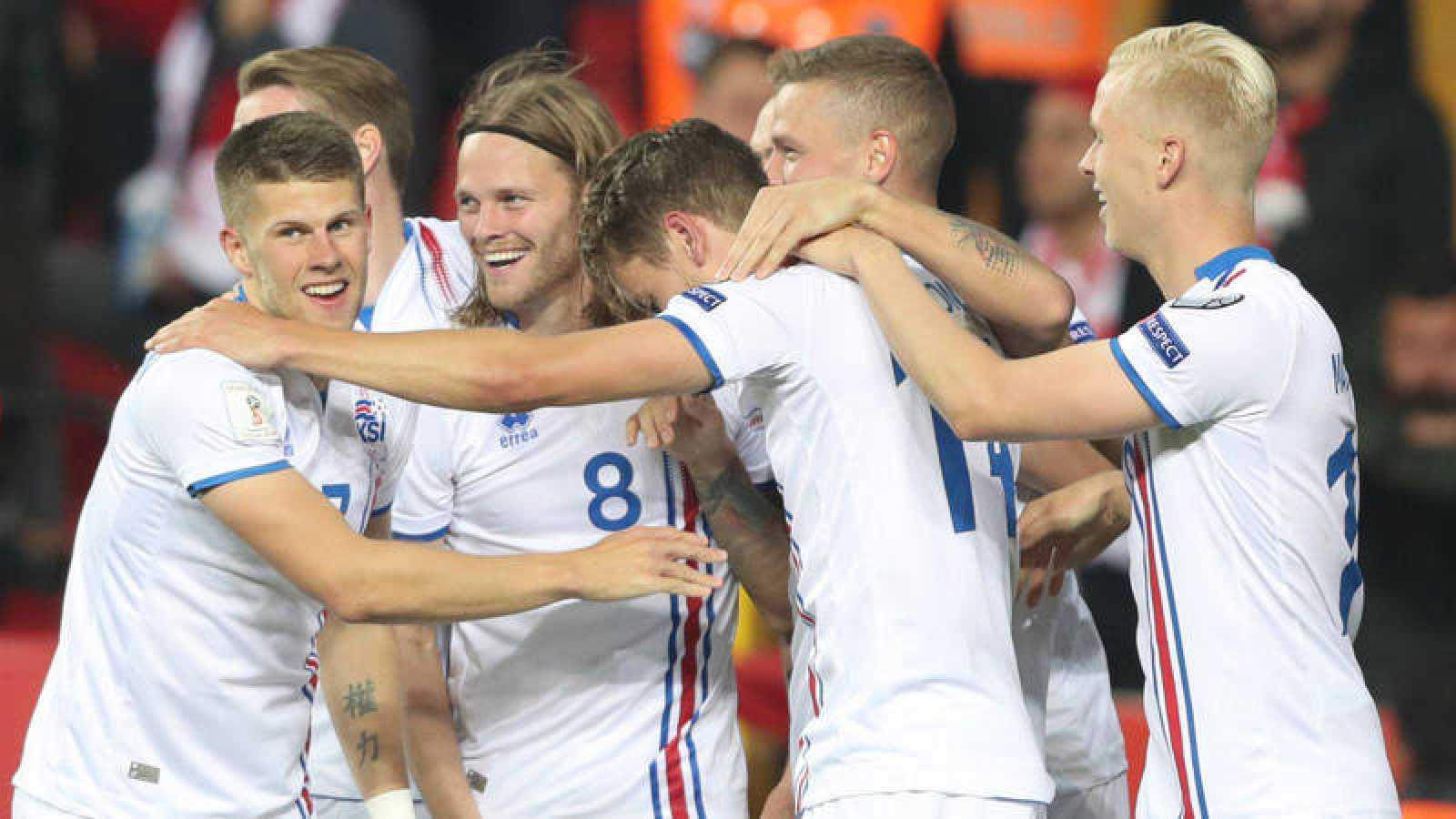 La selección de Islandia vence a Turquía