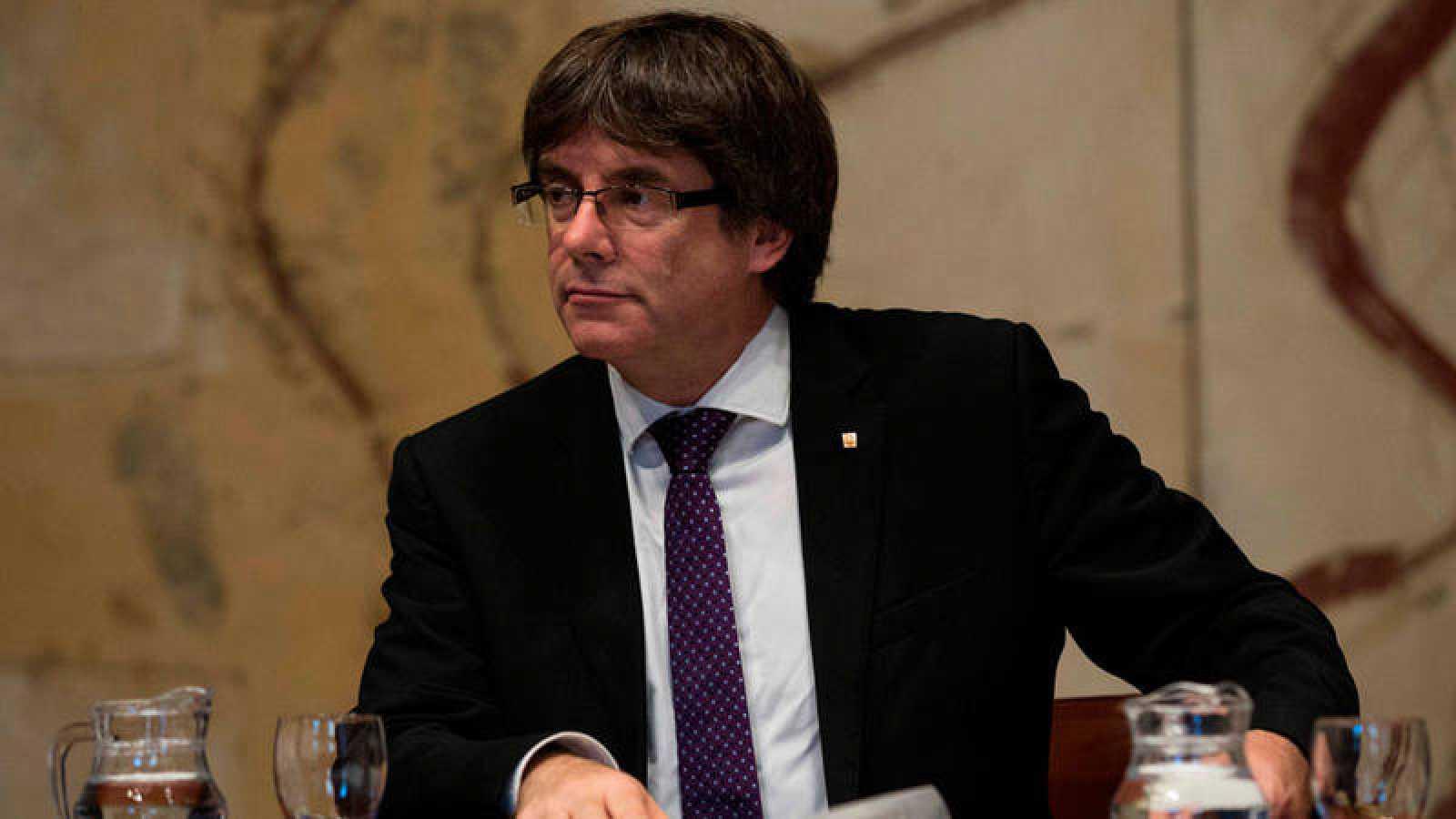 Fotografía de archivo del presidente catalán, Carles Puigdemont