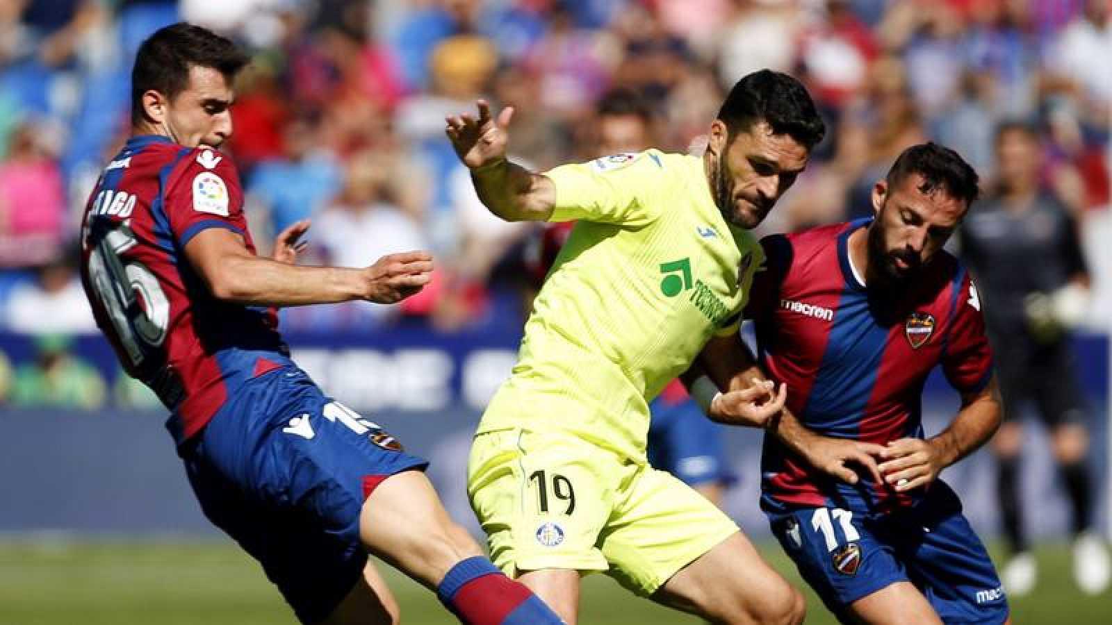 Levante y Getafe firman tablas en el Ciudad de Valencia