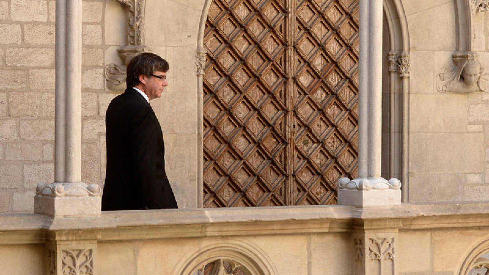 El presidente de Cataluña, Carles Puigdemont, en una imagen de archivo
