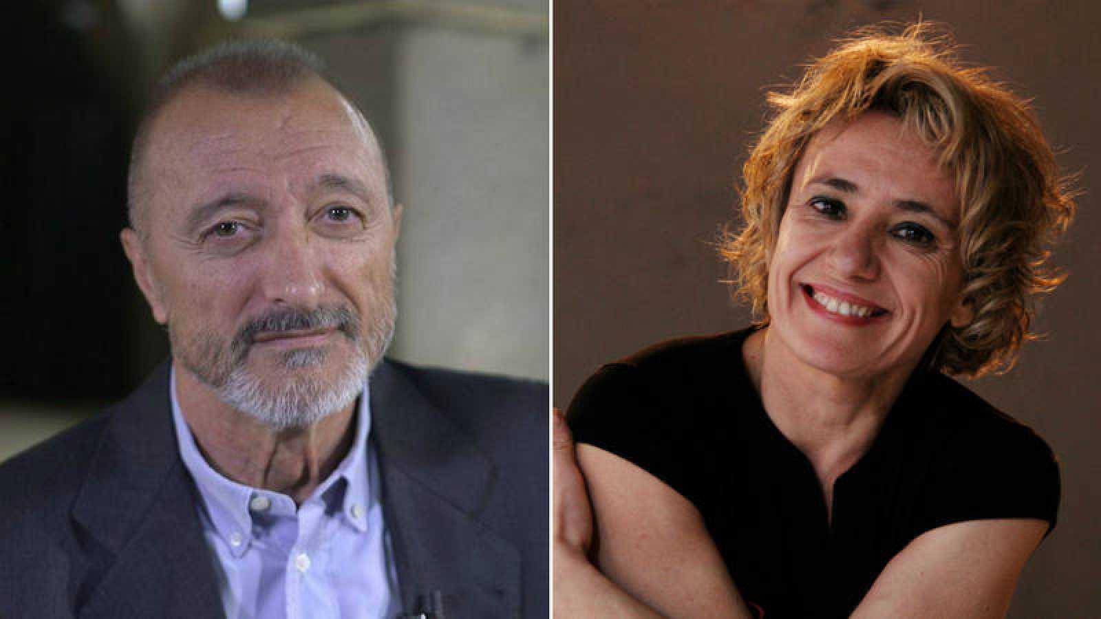 Arturo Pérez-Reverte y Sol Picó