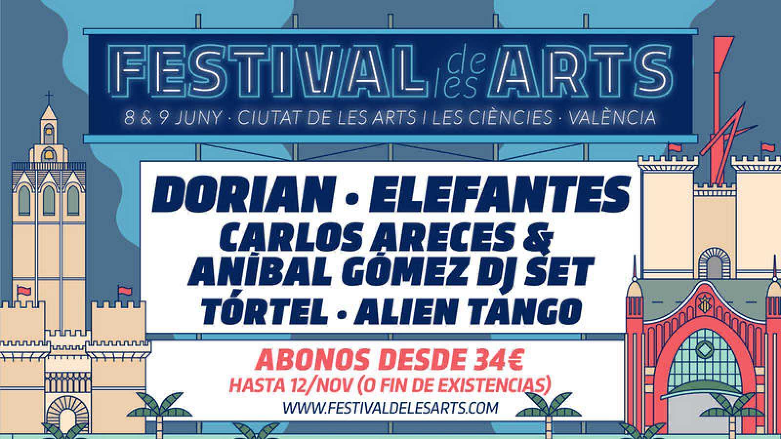 180 Grados te ha adelantado las primeras confirmaciones del Festival de les Arts