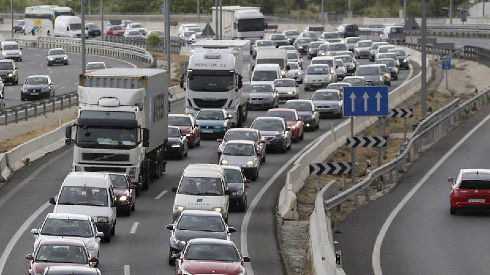 El tráfico en la carretera Nacional III