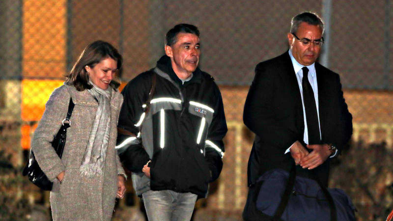 El expresidente de la Comunidad de Madrid, Ignacio González, abandona la cárcel de Soto del Real