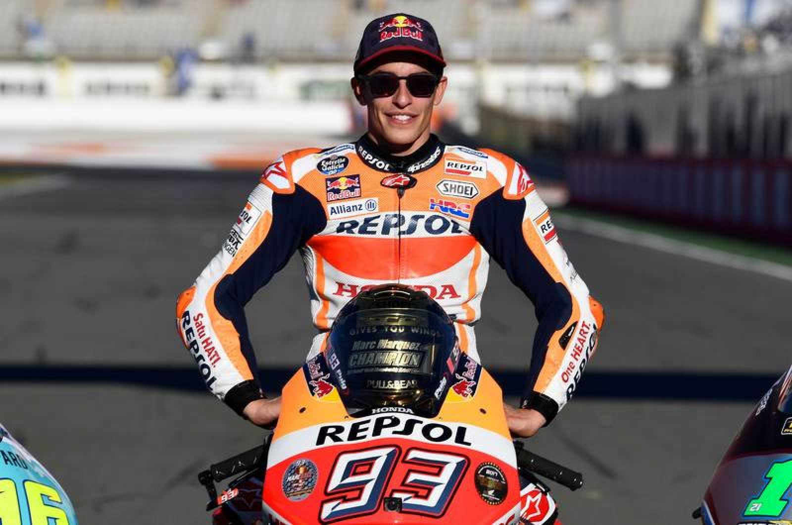 Marc Márquez, de nuevo campeón del mundo de la categoría reina.