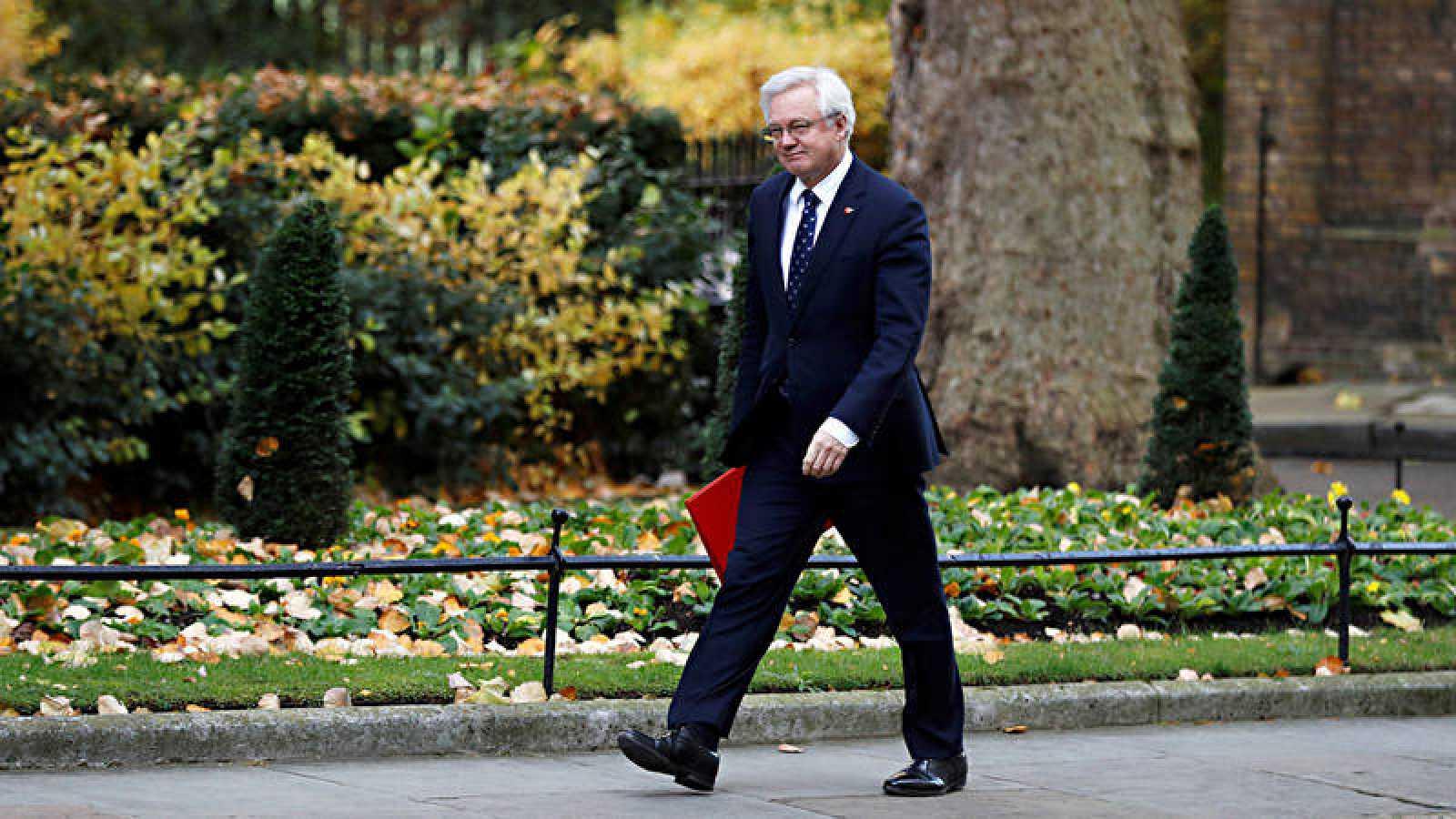El ministro para la salida del Reino Unido de la UE, David Davis