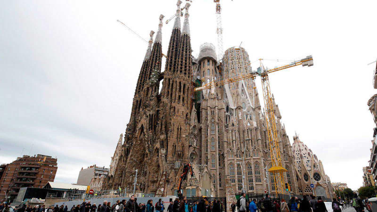 La Sagrada Familia, uno de los principales atractivos turísticos de Barcelona