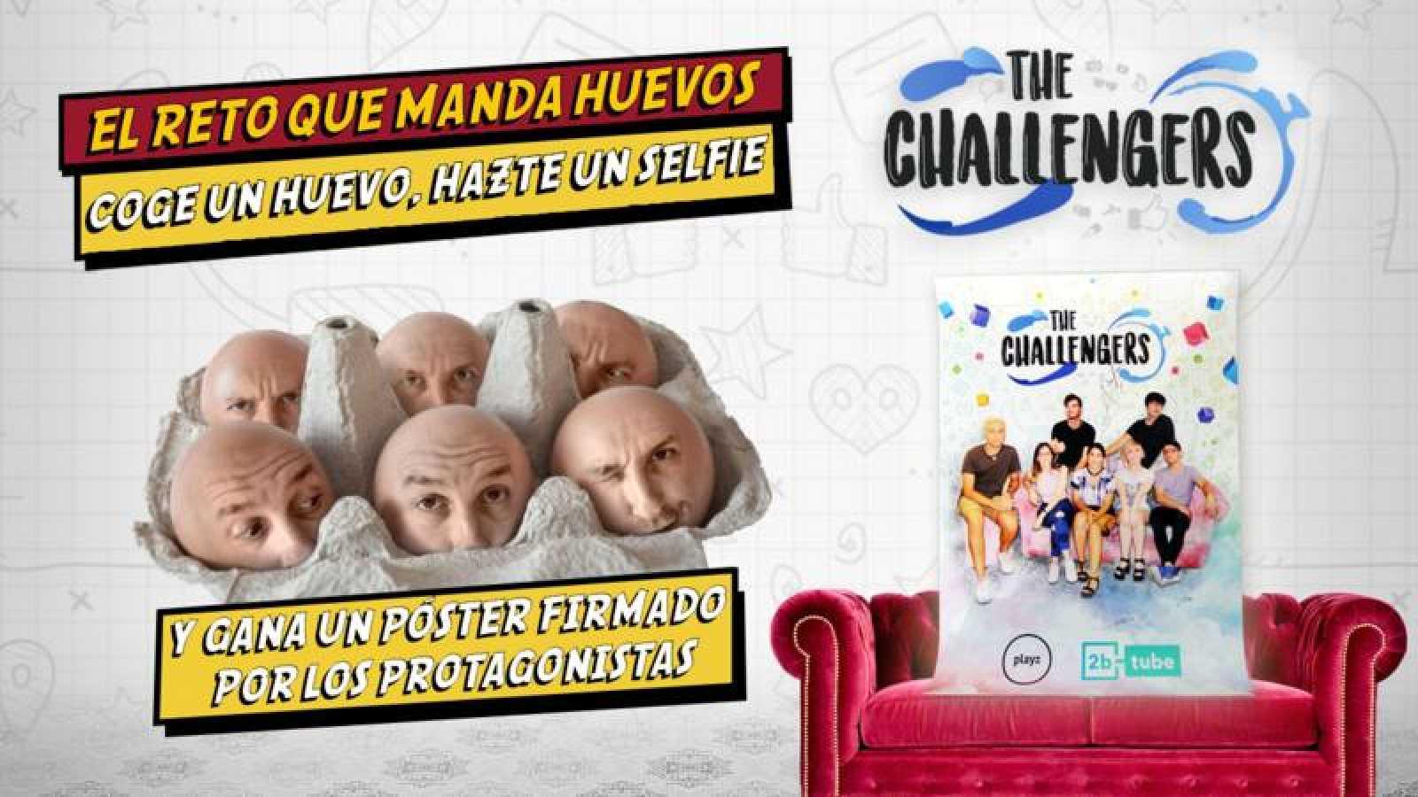 El reto de los huevos, el segundo concurso de 'The Challengers'