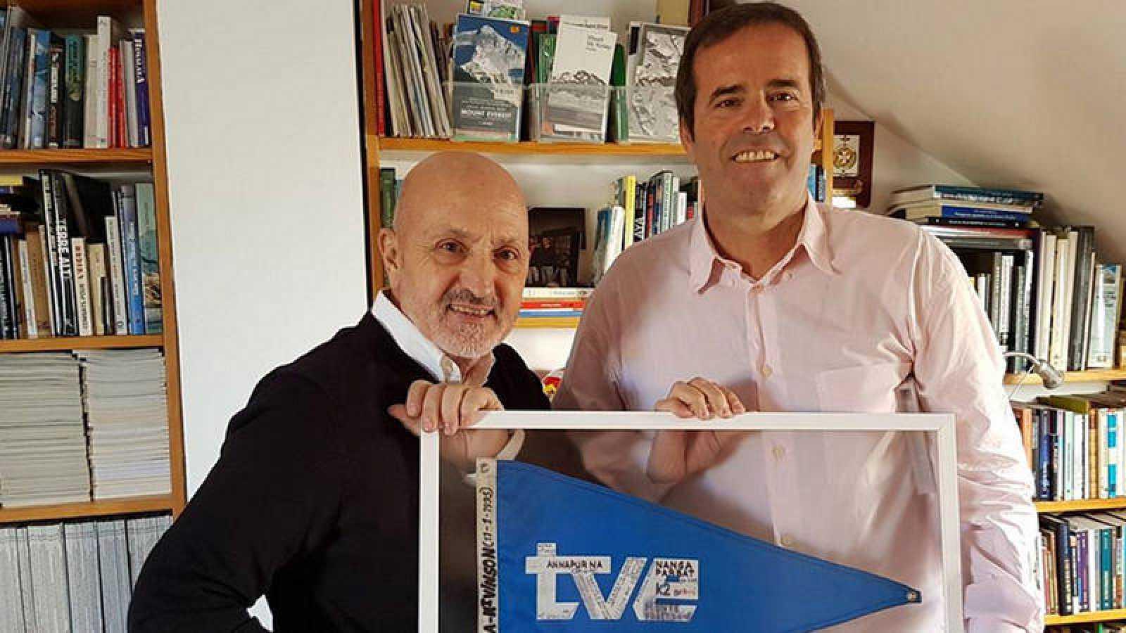 Sebastián Álvaro y Paco Grande