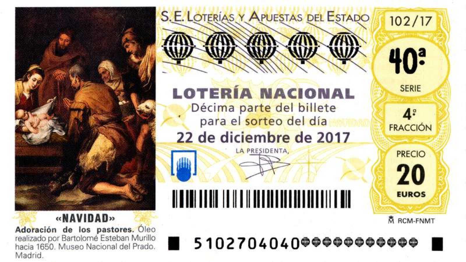 La Lotería De Navidad Homenajea A Murillo Rtve Es