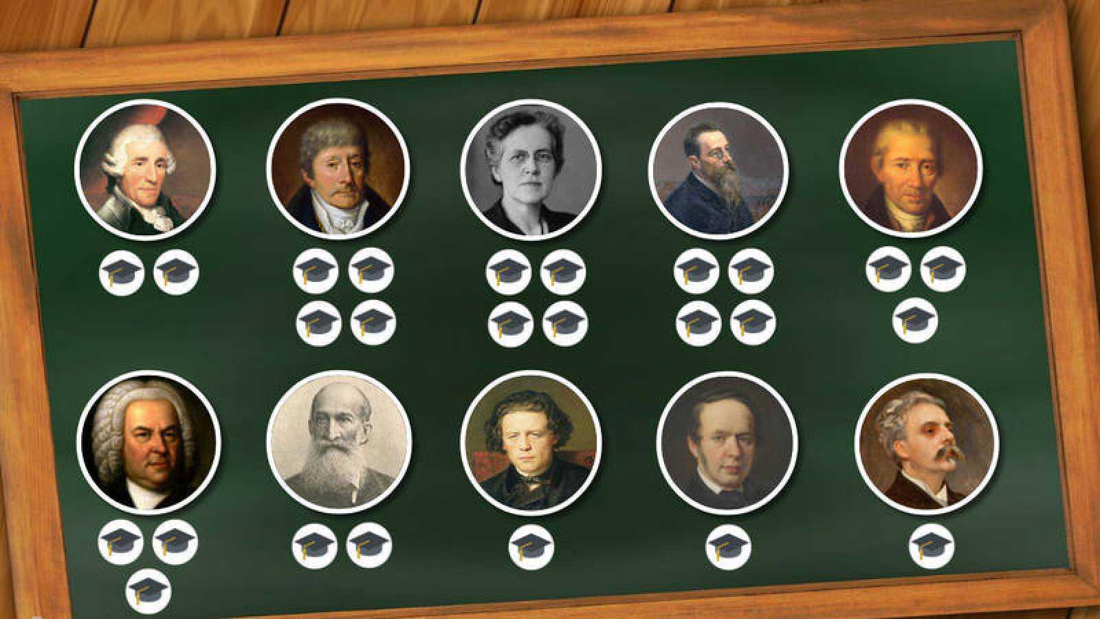 Imagen interactiva 'Día del maestro'