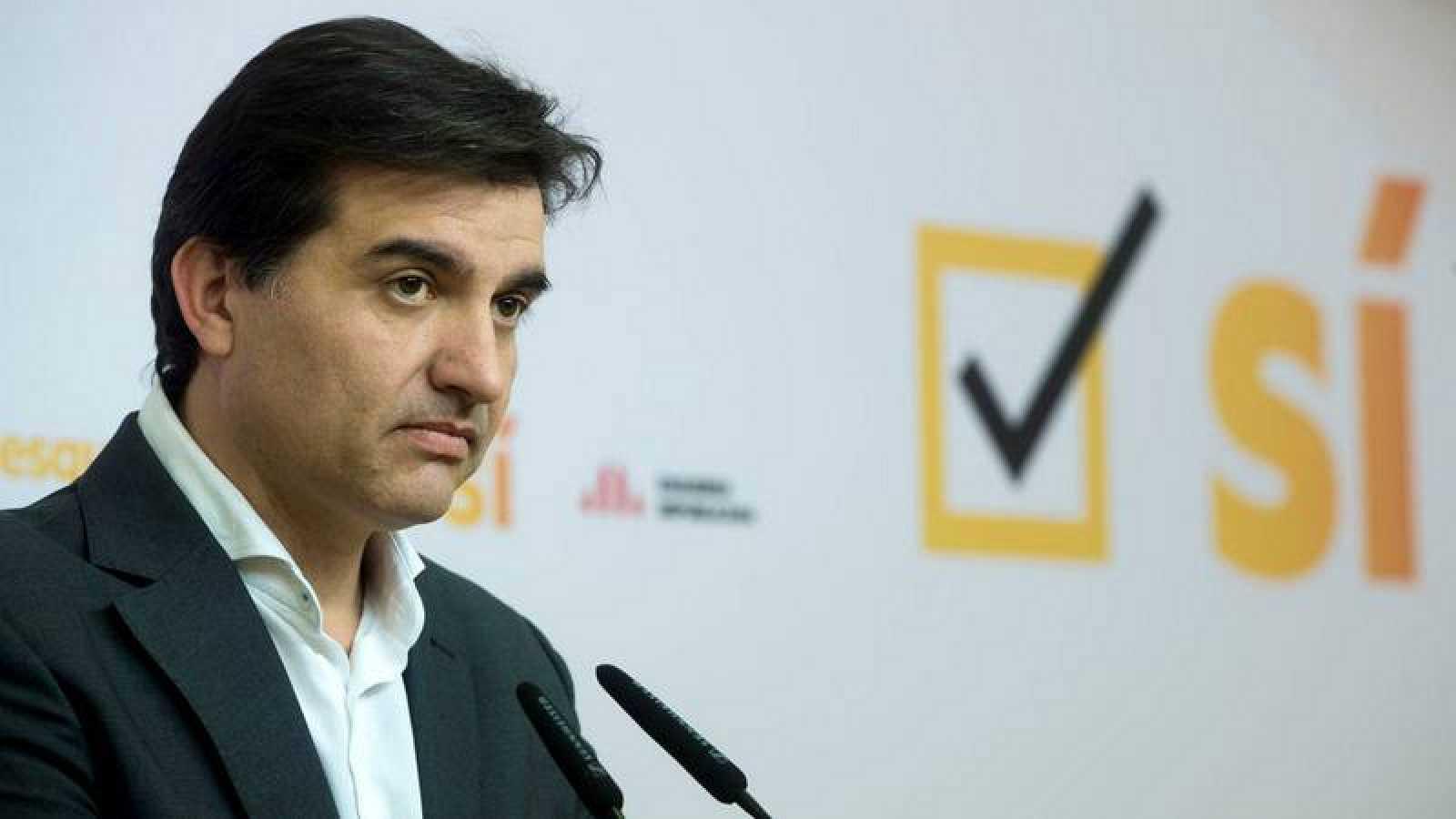 El portavoz y jefe de campaña de ERC, Sergi Sabrià.