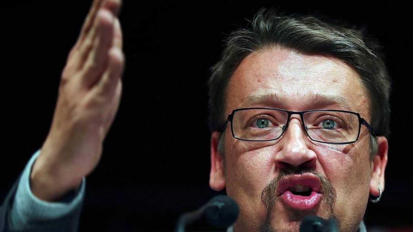 El hasta ahora líder de Catalunya en Comú-Podem, Xavier Domènech