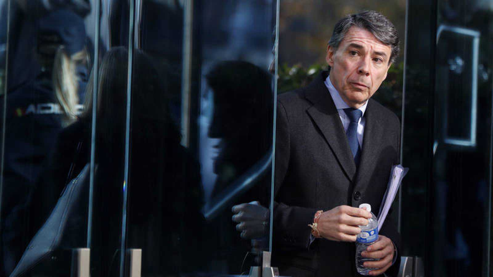 El expresidente de la Comunidad de Madrid Ignacio González a su salida de la Audiencia Nacional