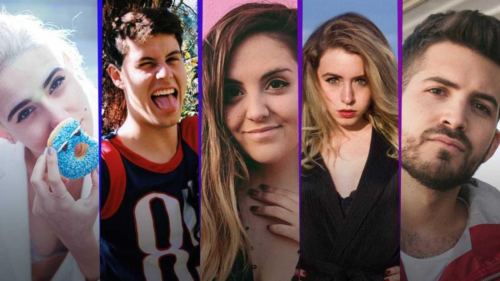 Bannanitas, Stone, Andrea Compton, Miare y Kikillo, protagonistas en las Campanadas de Playz