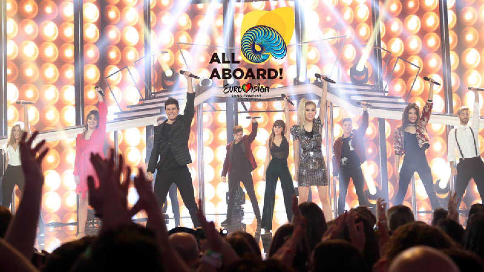 'Operación Triunfo' emitirá un programa especial para elegir al representante de España en Eurovisión