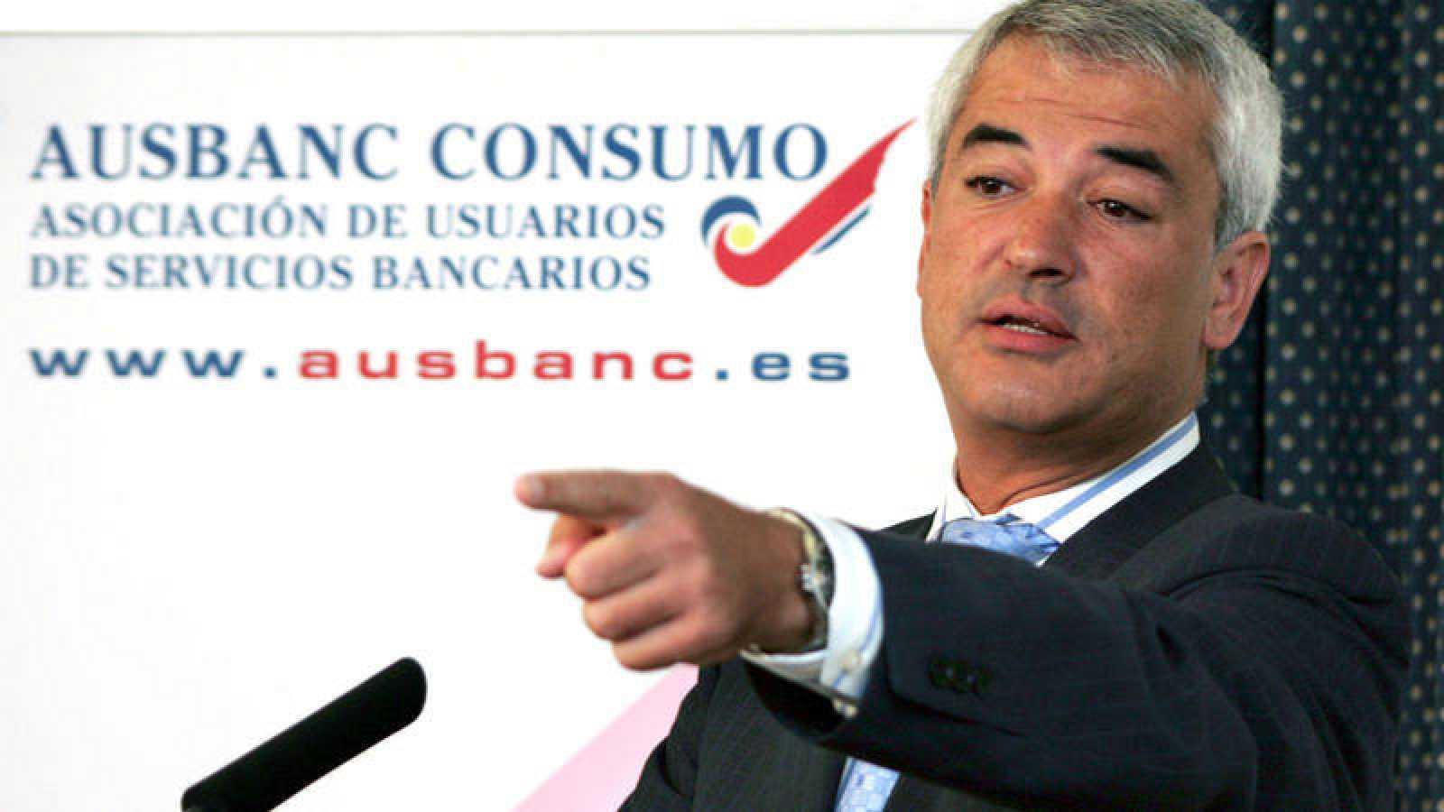 El presidente de Ausbanc, Luis Pineda, en una imagen de archivo