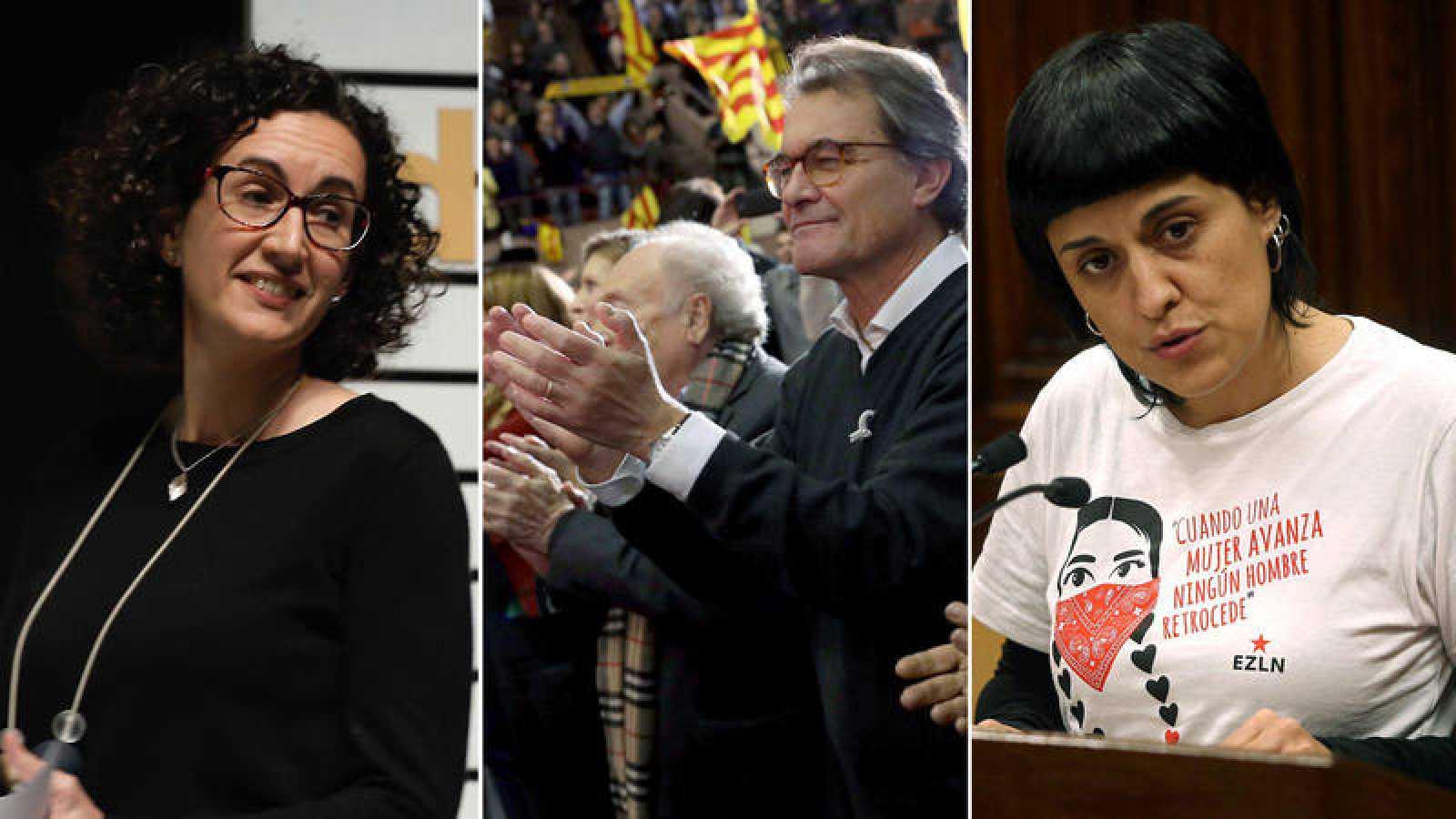 El Supremo imputa a Marta Rovira, Artur Mas y Anna Gabriel en la causa abierta contra el proceso independentista