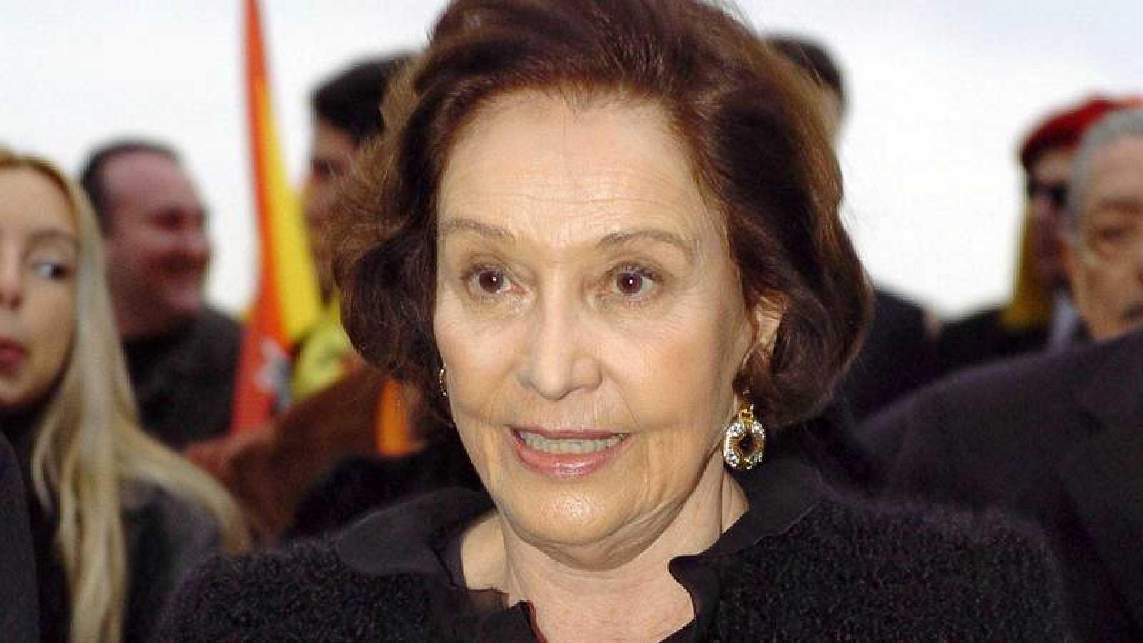 Carmen Franco, la hija del dictador Francisco Franco, en una imagen de archivo de 2005