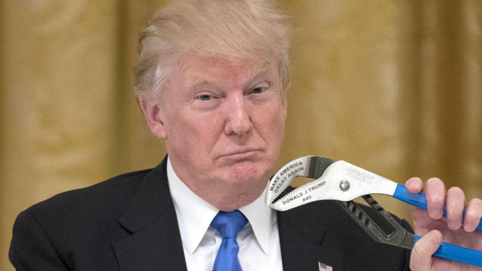 El presidente estadounidense Donald Trump en una foto de archivo