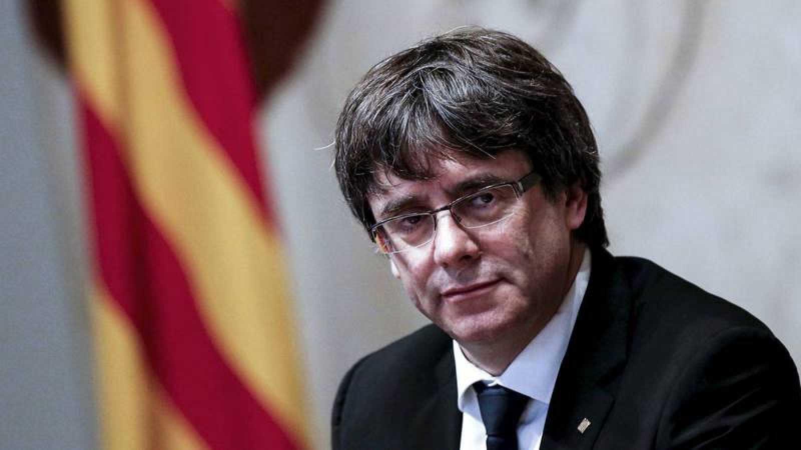 Carles Puigdemont, líder de Junts per Catalunya.