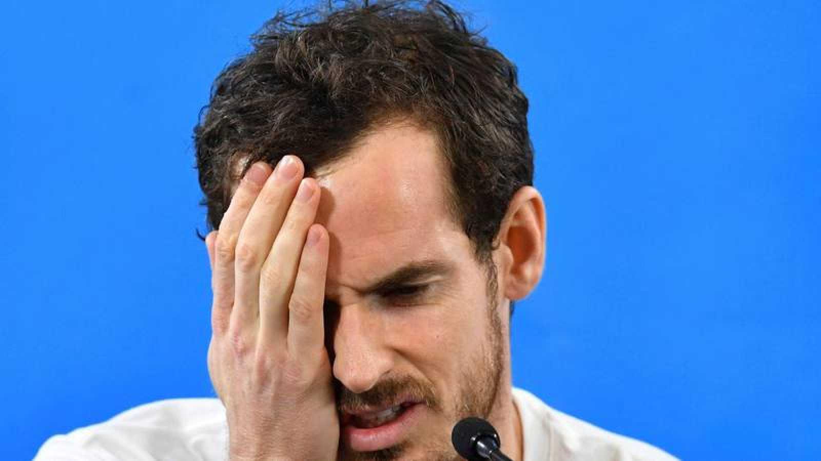 Murray causa baja en el Abierto de Australia por una lesión de cadera