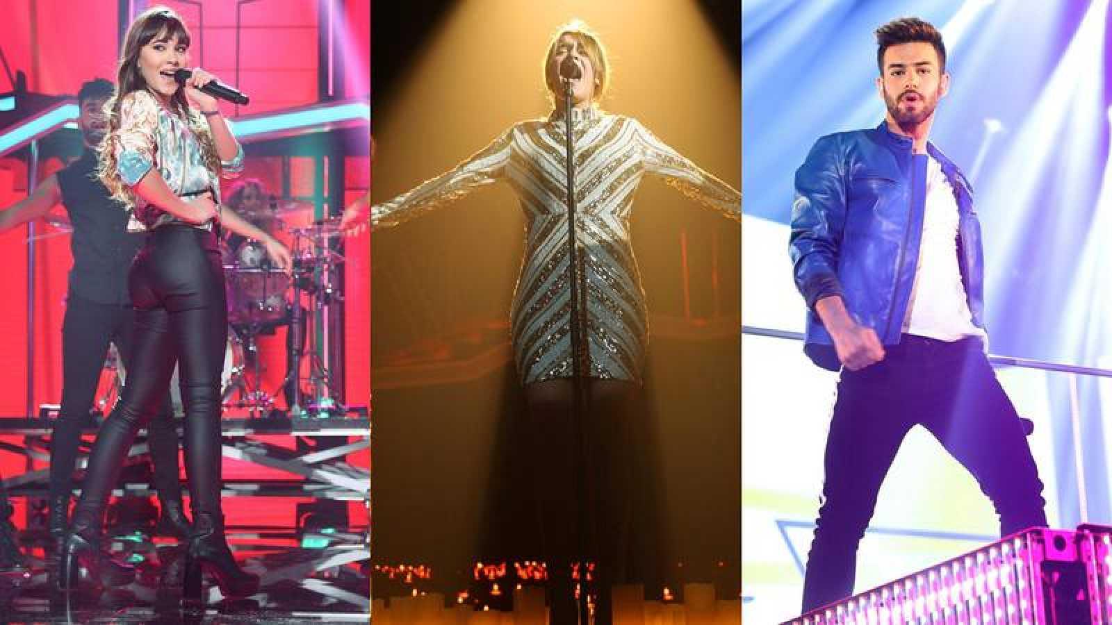 Aitana, Amaia y Agoney los favoritos para ir a Eurovisión 2018