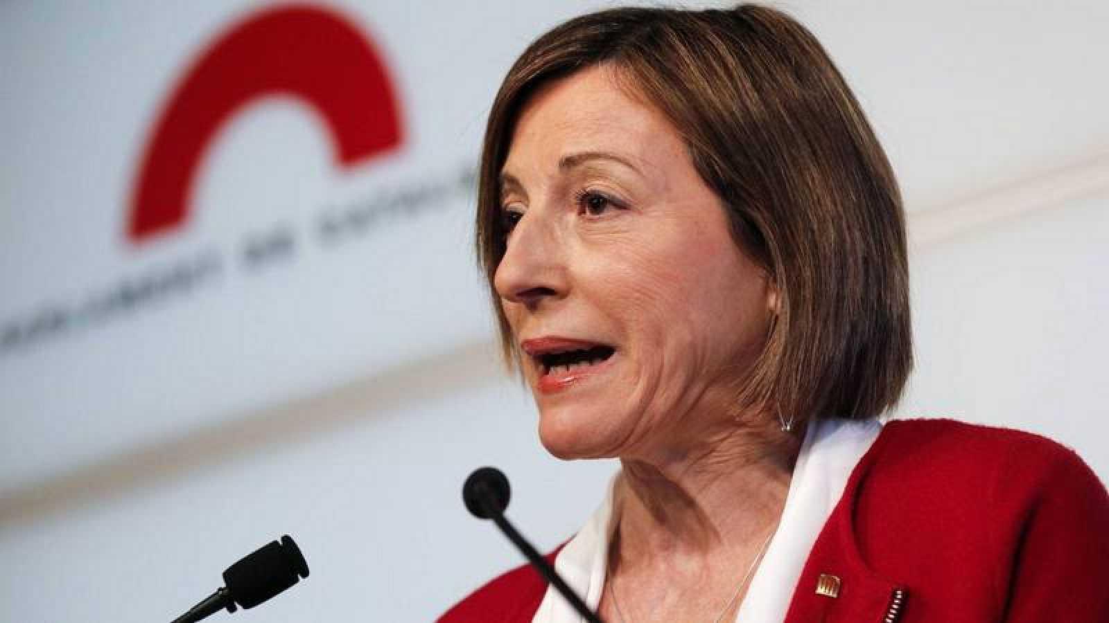 Carme Forcadell anuncia que no repetirá como presidenta del Parlament.