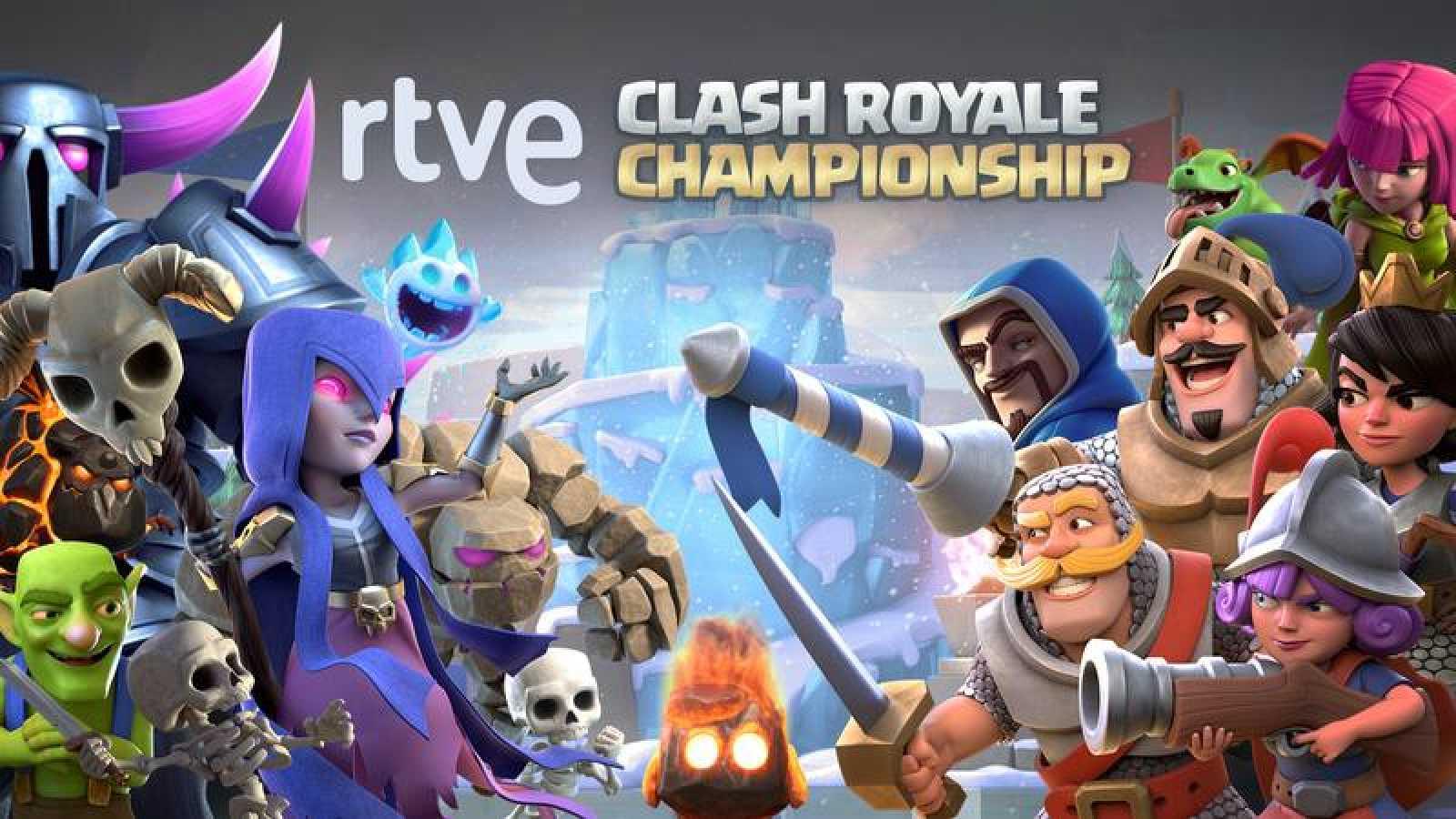 La RTVE Clash Royale Championship comienza este miércoles con su primer clasificatorio