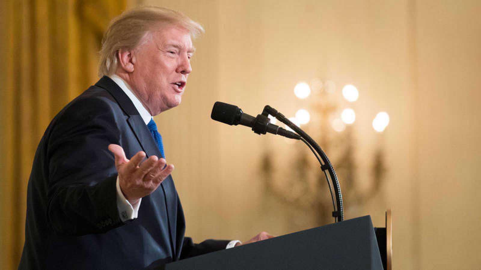 """Donald Trump: """"Si tú no tienes un muro, tú no tienes DACA"""""""
