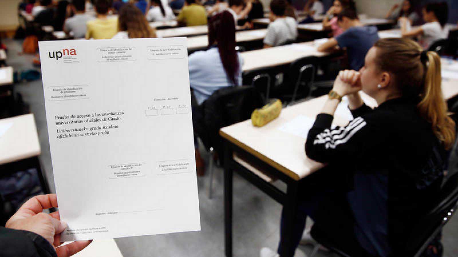 Convocatoria extraordinaria de la nueva prueba de acceso a la universidad de 2017 en la Universidad Pública de Navarra