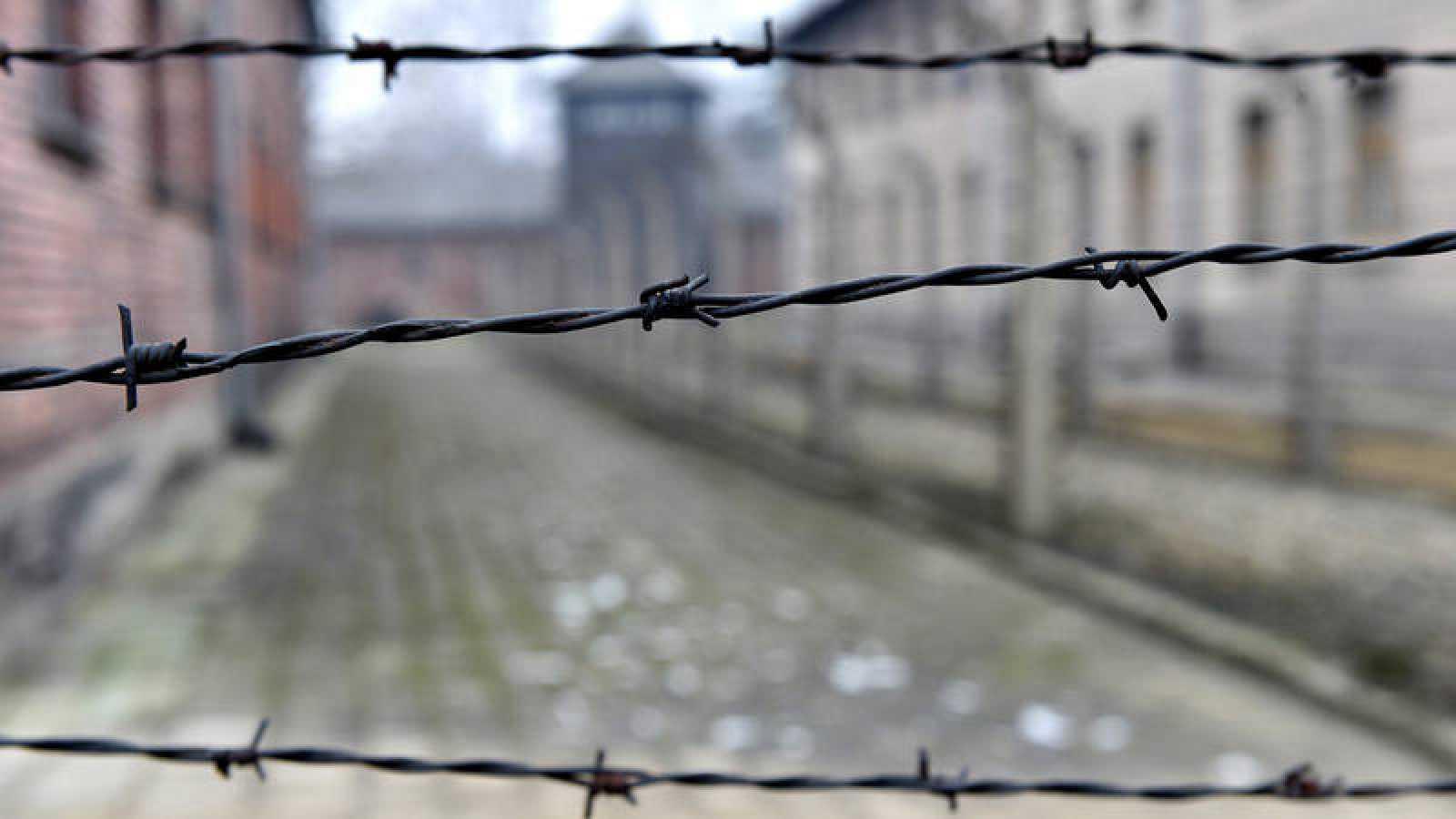 Imagen del campo de concentración y exterminio de Auschwitz-Birkenau